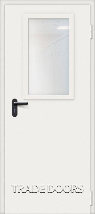 Дверь ДМУО-1 белый